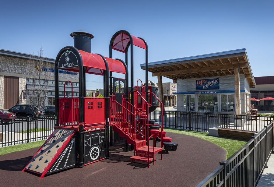 Playground at The Shops at Canton Crossing