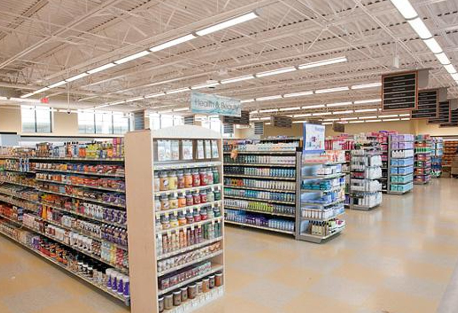 Harris Teeter at McHenry Row Interior Photo by Nicholas Griner Baltimore Business Journal