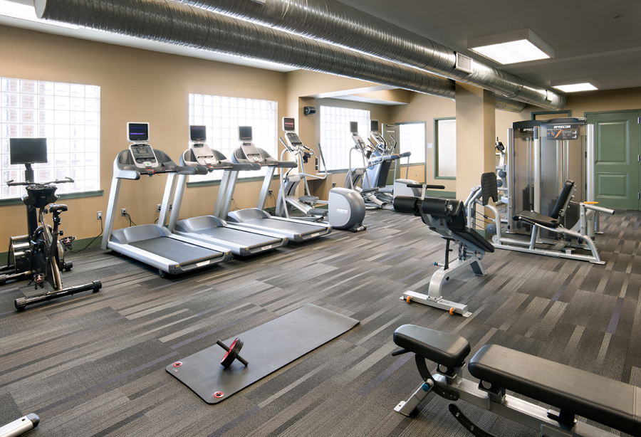 McHenry Row Apartments Exercise Room