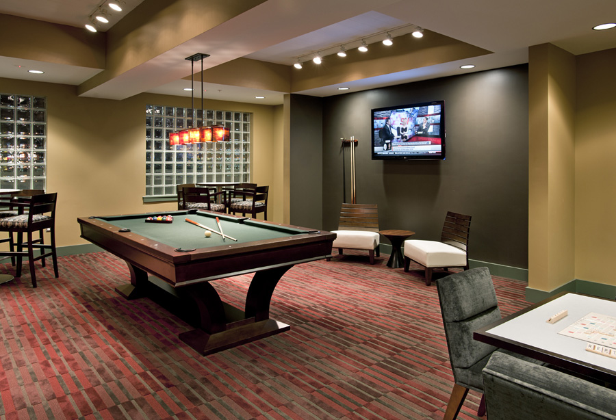 McHenry Row Apartments Game Room