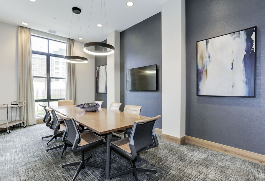 Porter Street Apartments Meeting Room
