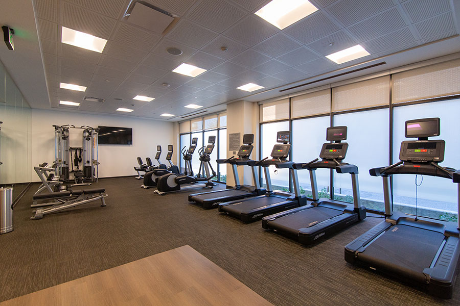 Courtyard by Marriott McHenry Row Baltimore Exercise Room