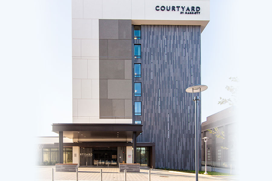 Courtyard by Marriott in McHenry Row Baltimore