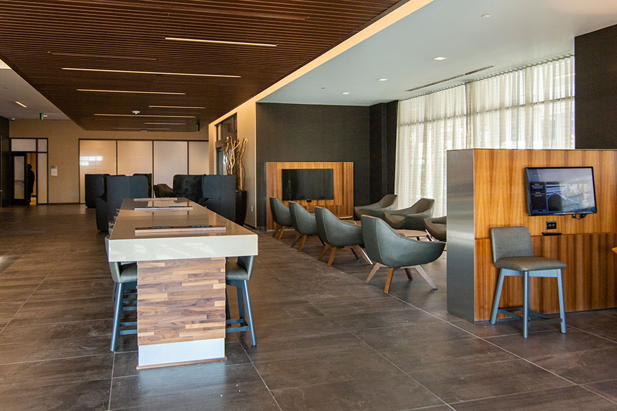 Courtyard by Marriott McHenry Row Baltimore Lounge and MeetingArea
