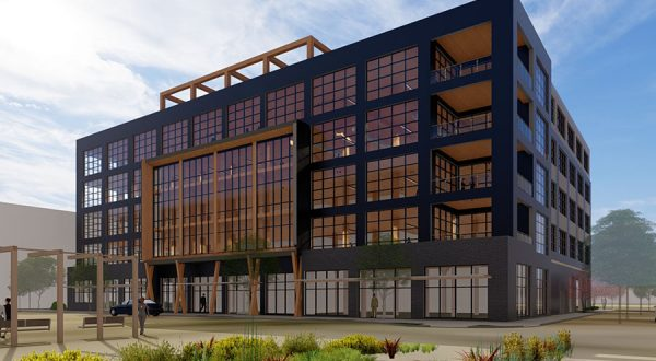 A current Baltimore heavy-timber office building project by 28Walker