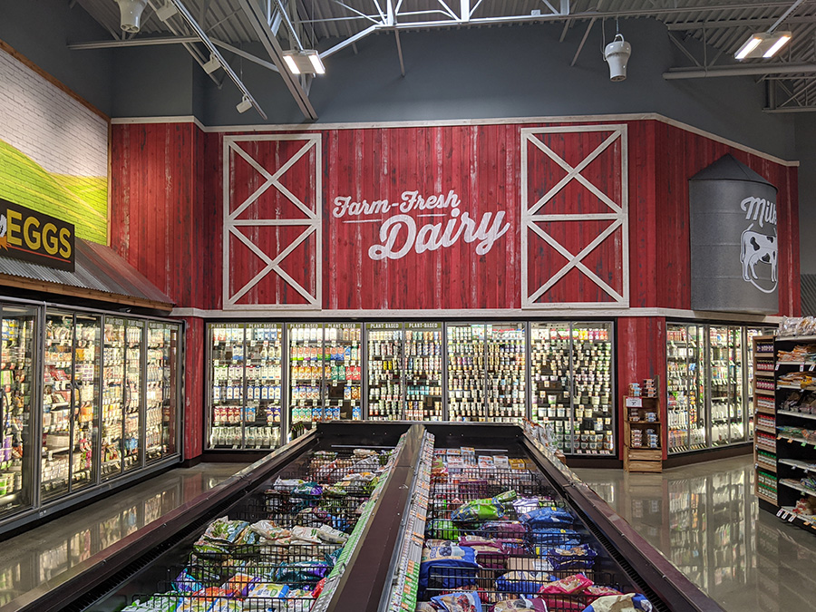 Fresh dairy at Sprouts Famers Market at the Collective at Canton