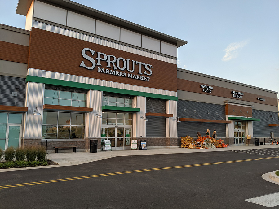 Sprouts Famers Market at the Collective at Canton