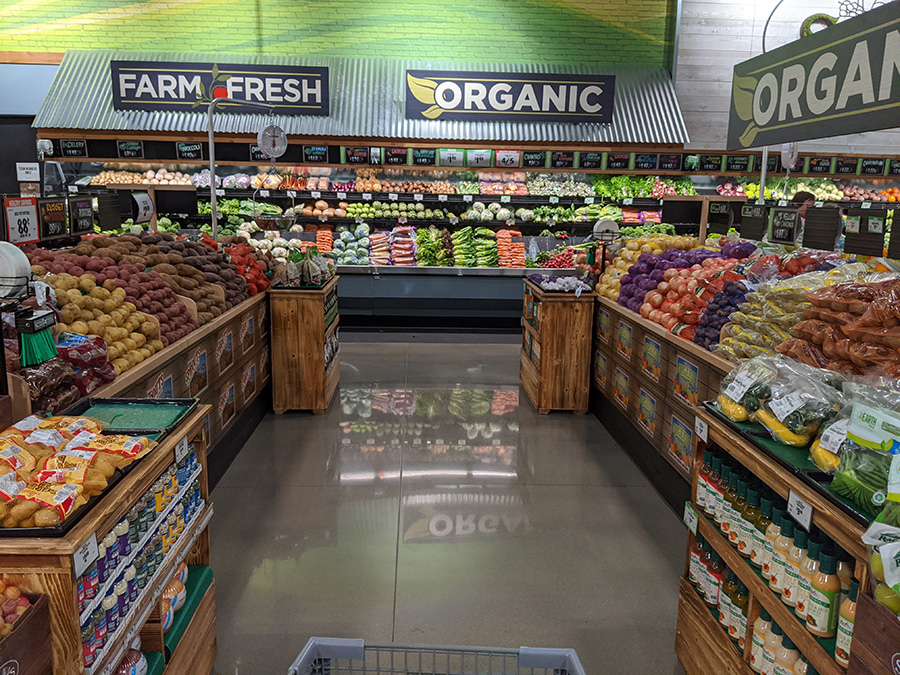 Fresh produce at Sprouts Famers Market at the Collective at Canton