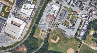 locust point plant overhead google map